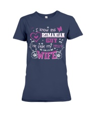 Romanian Wife Premium Fit Ladies Tee thumbnail