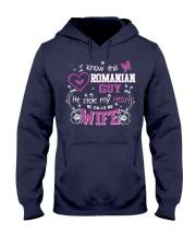 Romanian Wife Hooded Sweatshirt thumbnail