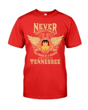 German in Tennessee Premium Fit Mens Tee front