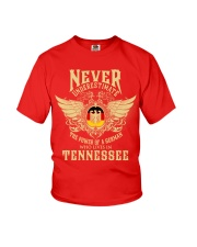 German in Tennessee Youth T-Shirt front