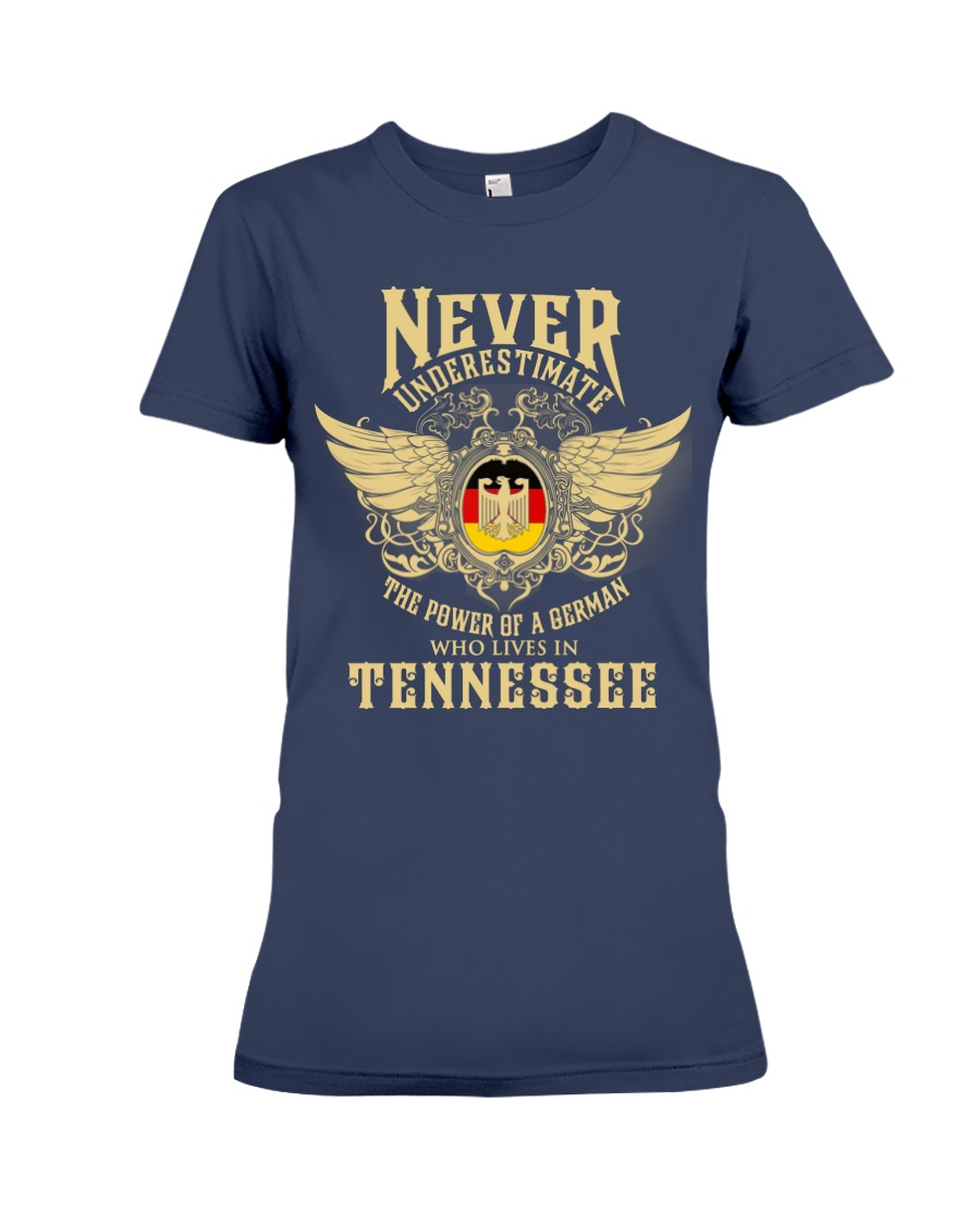 German in Tennessee Premium Fit Ladies Tee