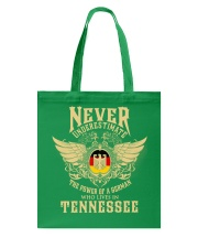 German in Tennessee Tote Bag front