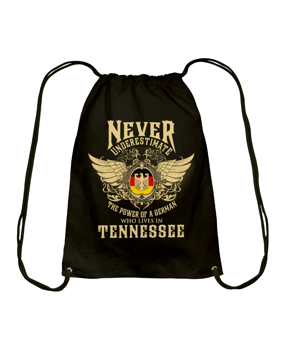 German in Tennessee Drawstring Bag