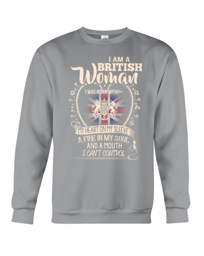 British Woman - I Can't Control