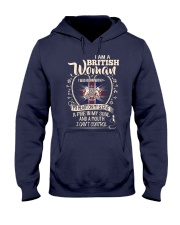 British Woman - I Can't Control Hooded Sweatshirt thumbnail