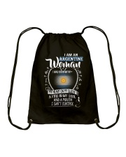 I'm a Argentine Woman - I Can't Control Drawstring Bag thumbnail