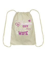 Colombian Wife Drawstring Bag front