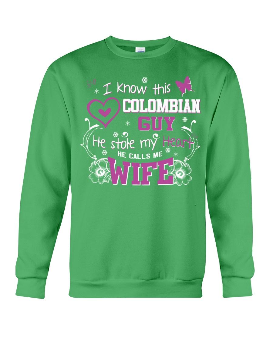 Colombian Wife Crewneck Sweatshirt