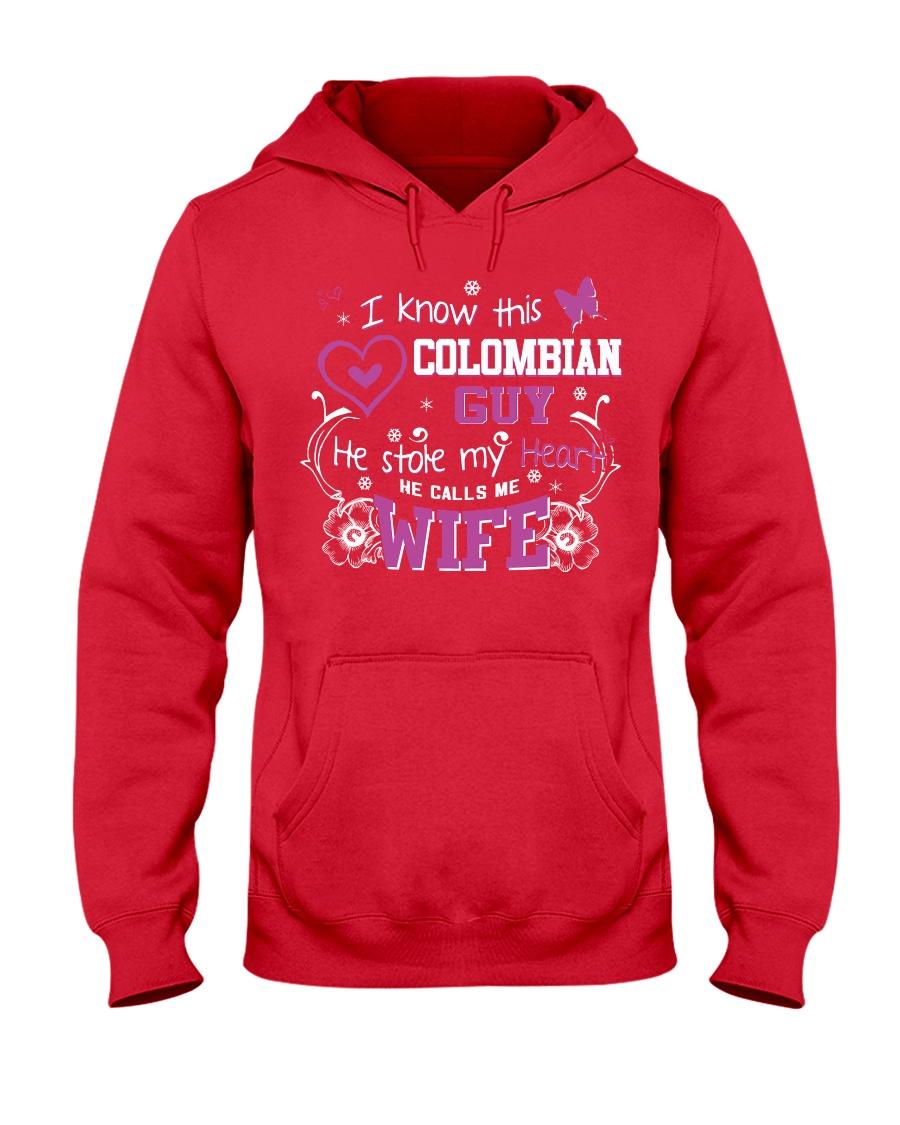 Colombian Wife Hooded Sweatshirt