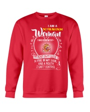 I'm a Spanish Woman - I Can't Control Crewneck Sweatshirt thumbnail