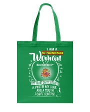 I'm a Spanish Woman - I Can't Control Tote Bag thumbnail