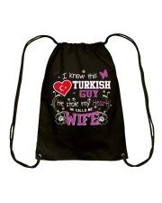Turkish Wife Drawstring Bag thumbnail