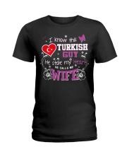Turkish Wife Ladies T-Shirt front
