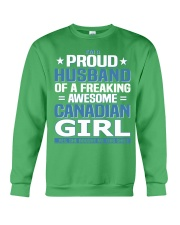 Canadian Husband  Crewneck Sweatshirt thumbnail