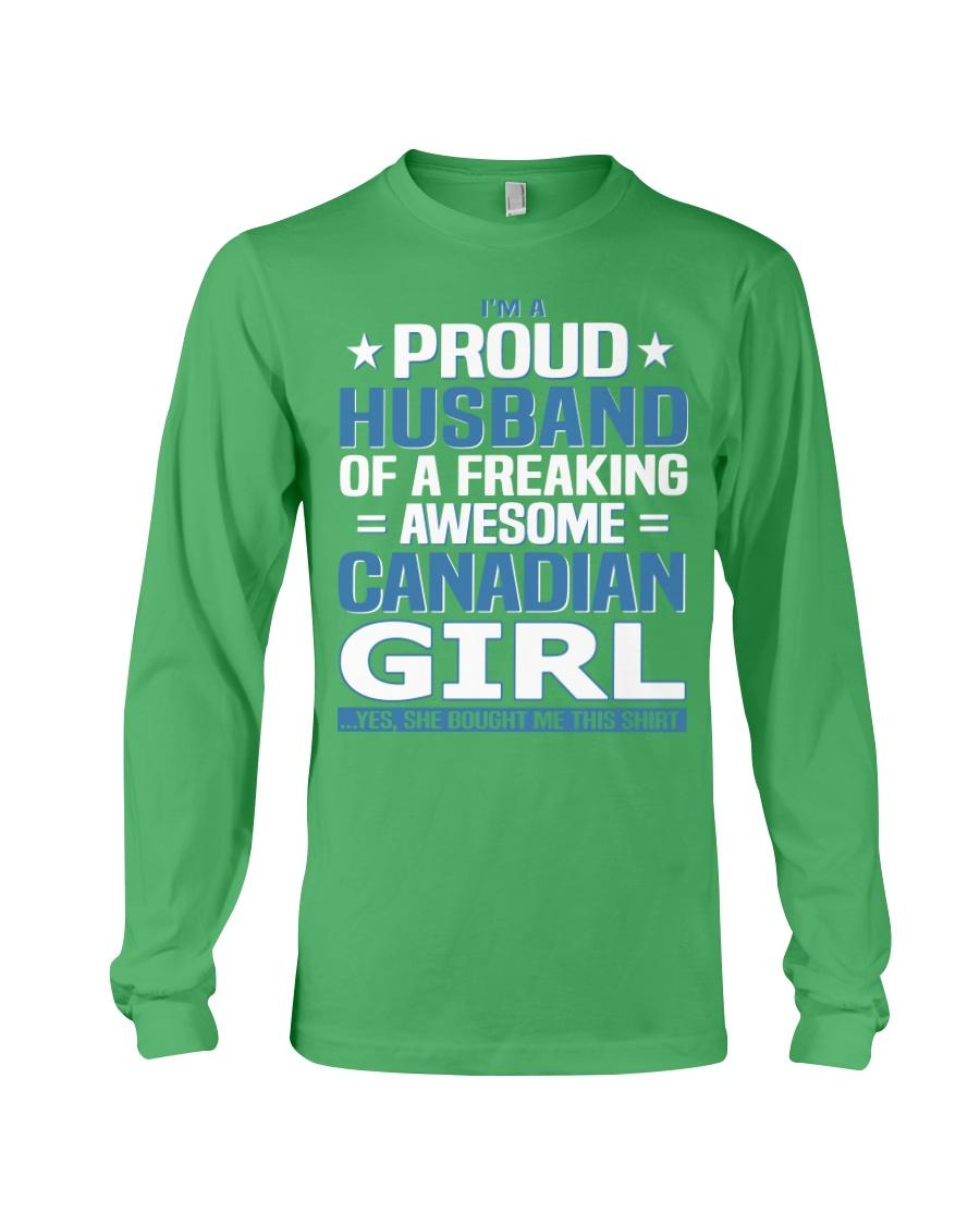 Canadian Husband  Long Sleeve Tee