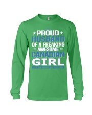 Canadian Husband  Long Sleeve Tee front