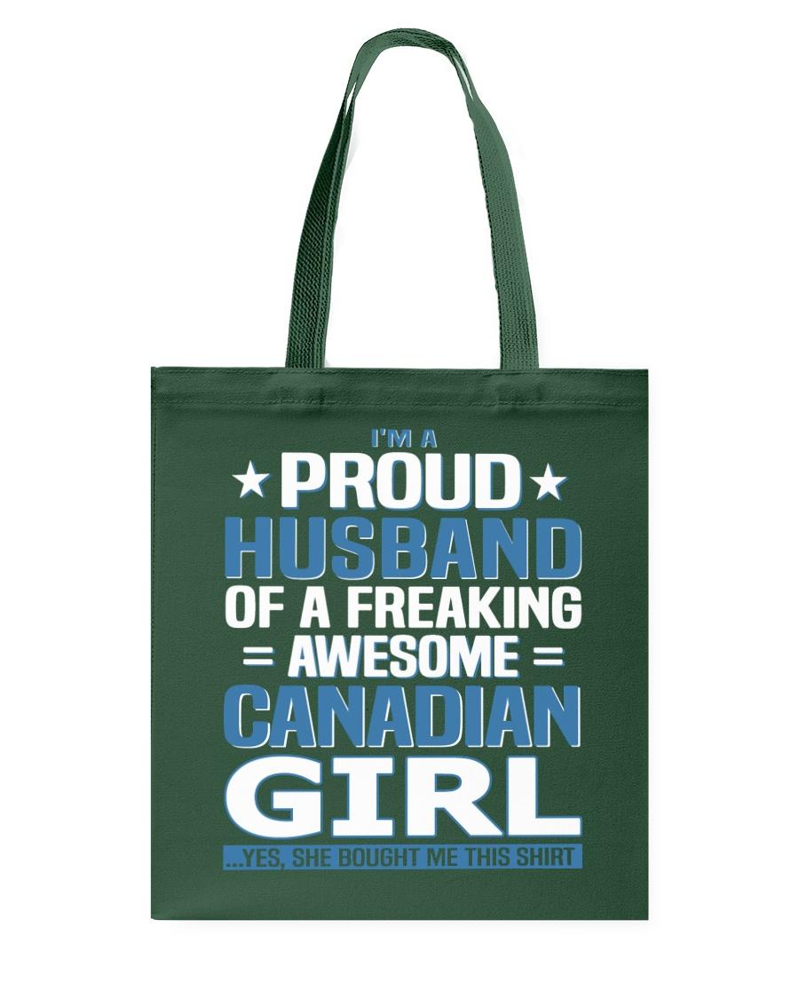 Canadian Husband  Tote Bag