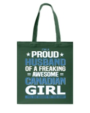 Canadian Husband  Tote Bag front