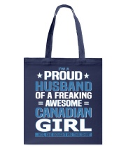 Canadian Husband  Tote Bag thumbnail