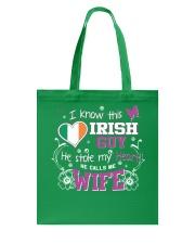 Irish Wife Tote Bag thumbnail