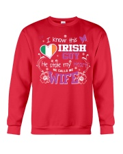 Irish Wife Crewneck Sweatshirt thumbnail