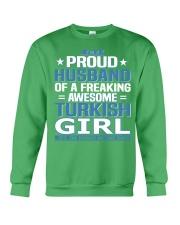 Turkish Husband  Crewneck Sweatshirt thumbnail