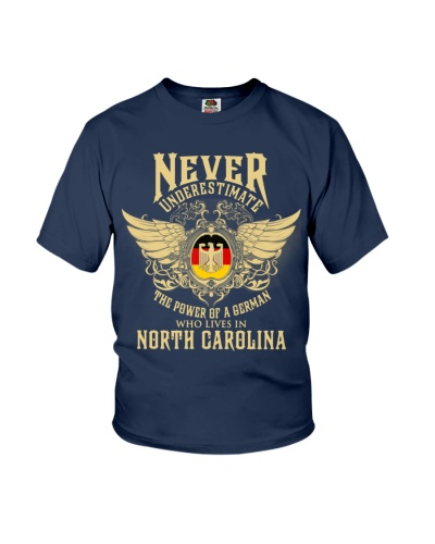 German in  North Carolina