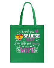 Spanish Wife Tote Bag thumbnail