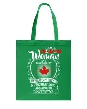 Canadian Tote Bag thumbnail