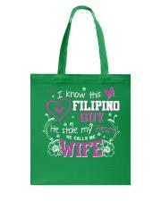 Filipino Wife Tote Bag thumbnail