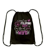 Filipino Wife Drawstring Bag thumbnail