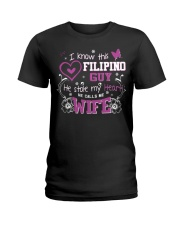 Filipino Wife Ladies T-Shirt front