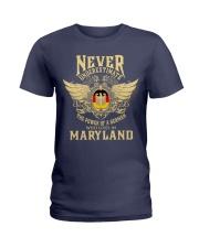 German in Maryland Ladies T-Shirt thumbnail