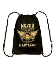 German in Maryland Drawstring Bag thumbnail