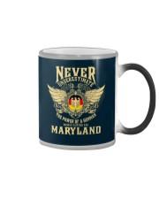 German in Maryland Color Changing Mug thumbnail