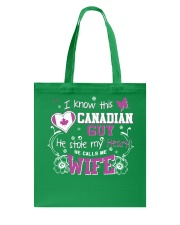 Canadian Wife Tote Bag thumbnail