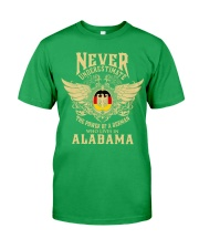 German in Alabama Classic T-Shirt front