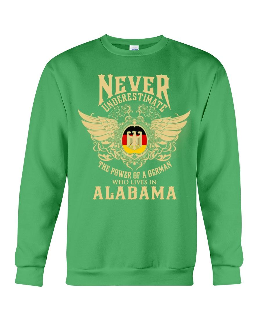 German in Alabama Crewneck Sweatshirt