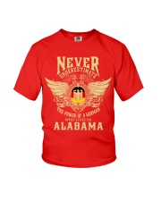 German in Alabama Youth T-Shirt front