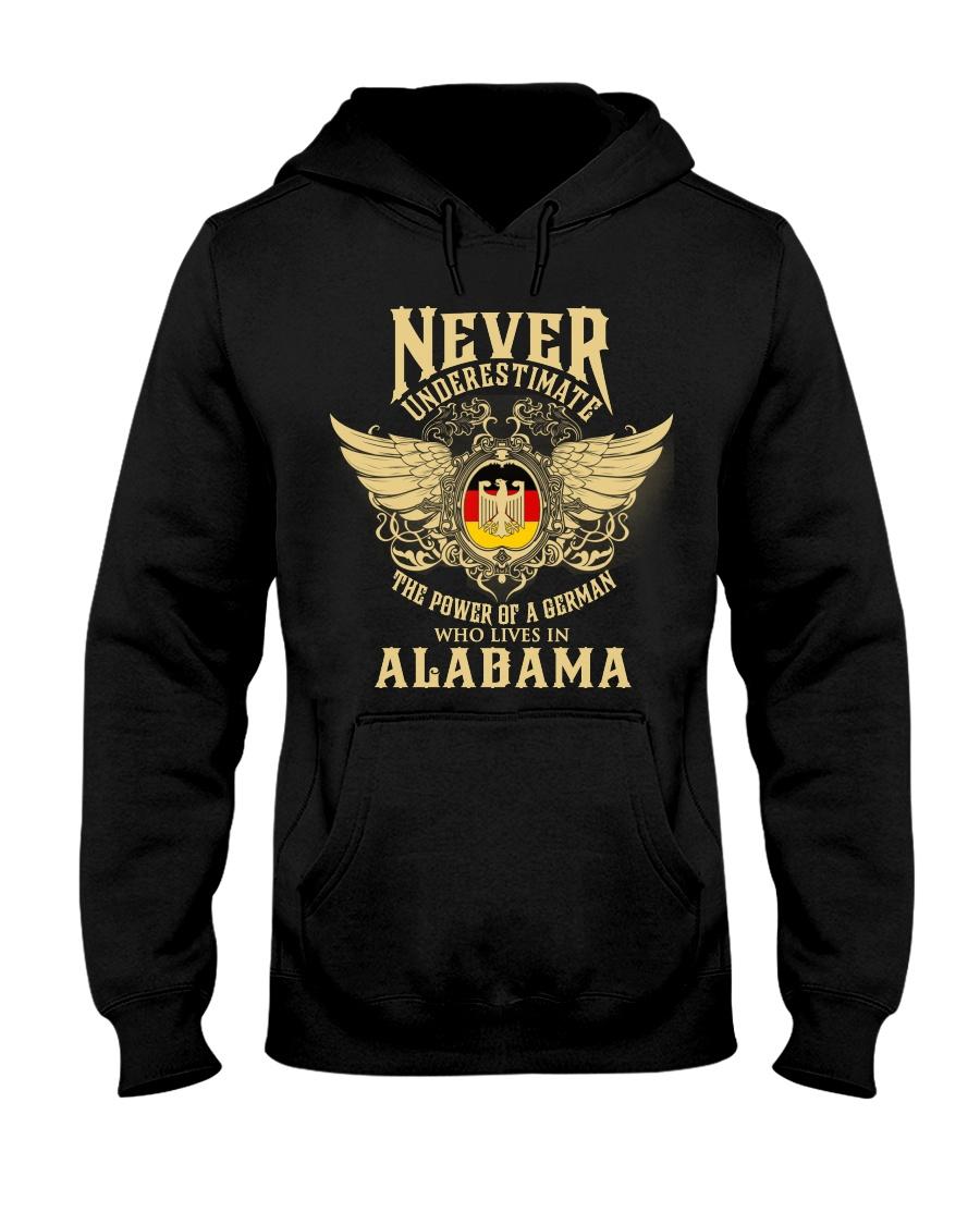 German in Alabama Hooded Sweatshirt