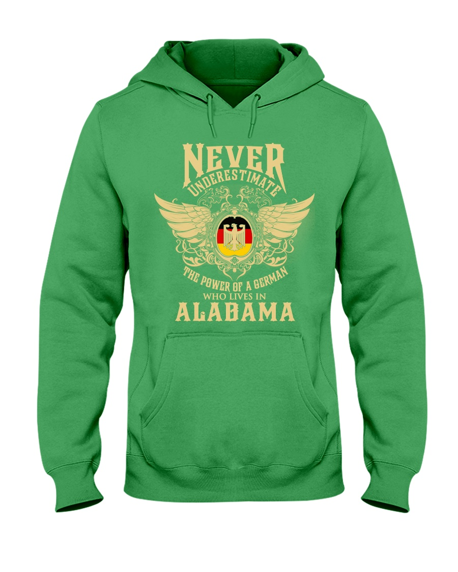 German in Alabama Hooded Sweatshirt