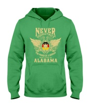 German in Alabama Hooded Sweatshirt front