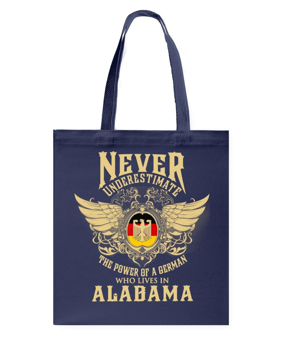 German in Alabama Tote Bag
