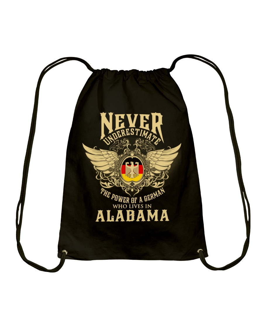 German in Alabama Drawstring Bag