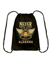 German in Alabama Drawstring Bag tile