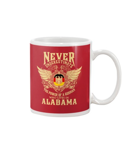 German in Alabama