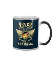 German in Alabama Color Changing Mug tile