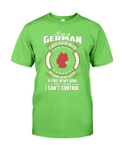 I'm German