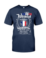 I'm a French Woman - I Can't Control Classic T-Shirt thumbnail
