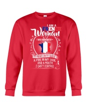 I'm a French Woman - I Can't Control Crewneck Sweatshirt thumbnail